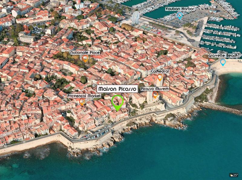 ~ Maison Picasso - The location ~