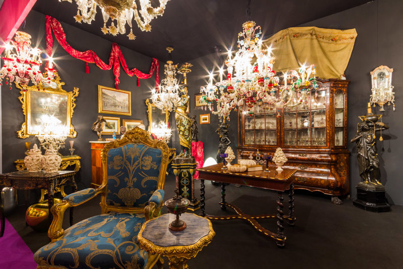 antibes art fair antiques
